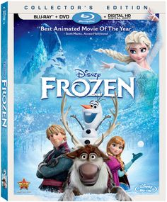 Disney's Frozen Blu-ray #Giveaway