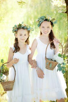 Boho flower girls: http://www.stylemepretty.com/little-black-book-blog/2014/09/23/czech-republic-bohemian-barn-wedding/ | Photography: Stephan Vrzala - http://www.stepanvrzala.com/