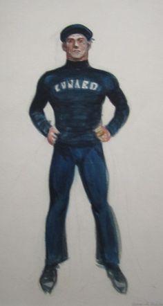 Edward Hopper, drawing.
