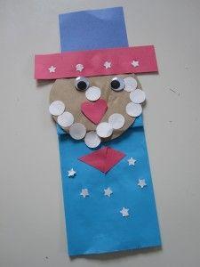 Uncle Sam puppet