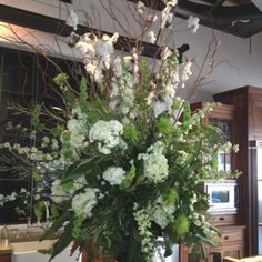 Just another arrangement to possibly mirror the church flowers after..