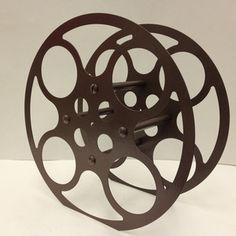 16mm Film Reel Wine Rack  on Fab  .COOL!