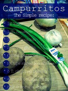 Campurritos. A simple recipe. #KEEN