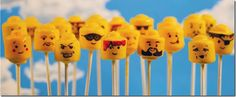 LEGO minifig head cake pops are kind of sadistic (in a good way)