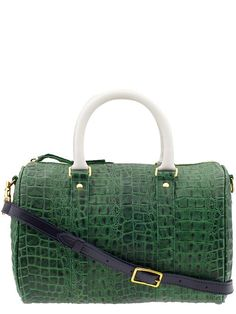 rich green leather duffle http://rstyle.me/~2JDWz