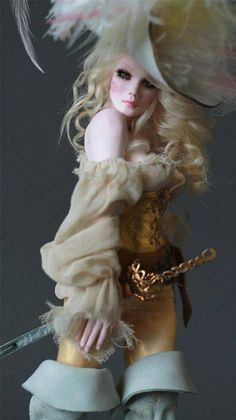 Art doll - One of a Kind by Nicole West.