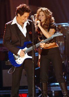 Shakira y Alejandro Sanz en la 7a Entrega Anual del Latin GRAMMY Shakira y Alejandro Sanz en la 7a Entrega Anual del Latin GRAMMY