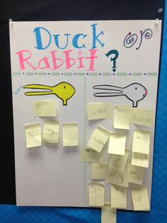 Inspired by Kindergarten: Duck or Rabibit& A Fantastic Blog Giveaway!