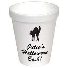 Personalized Foam Party Cups