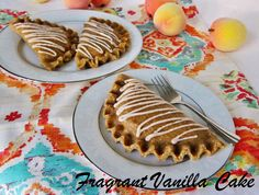 Raw Ginger Peach Hand Pies from Fragrant Vanilla Cake