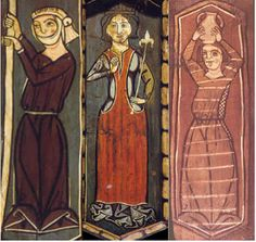 - OPUS INCERTUM -: SAYA, GONELA (II) de Mujer hasta el siglo XIV, Catedral de Teruel, end of 13th c