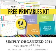 Free Printables Kit for newsletter subscribers!
