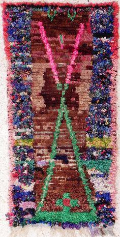 Boucherouite Rug 4#1 - 6 x 3