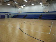 Tarkett Sports Omnisports 8.3 GreenLay with Omnisports Compact & Bleacher Blocking in Northeast Pennsylvania