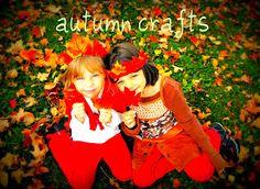 Autumn crafts waldorf style