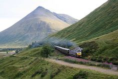 The Royal Scotsman, Scotland  Tumbling through misty marshlands and bleak, gloomy cliffs, the Royal Scotsman railway offers up topography as varied as the Scottish weather itself. The railway line weaves through the Scottish highlands, following stretches of deserted coastline and parading a slideshow of thatched roofed hamlets, rolling glens, eerily calm lochs, and acres of unblemished countryside.