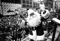 J.L. Hudson's Thanksgiving Day Parade  circa 1925...He got the Key to the City, & is Heading to the 12th floor ... the WHOLE FLOOR....TOYLAND!  (and Santa ALWAYS was the BEST Santa Hudson's Could Find, I mean LOOK at the Guy, Is He Not the REAL Santa or What?)