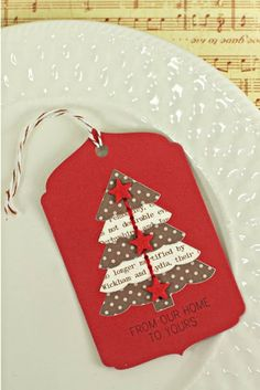 From Our Home Gift Tag by Erin Lincoln for Papertrey Ink (October 2013)