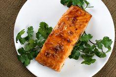 dinner, salmon recip, seafood, fish, amaz salmon, steaks, salmon steak, asian salmon, yummi
