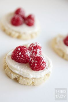Raspberry Sugar Cookie Tart
