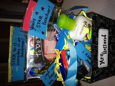 Welcome new teachers with a creative basket!