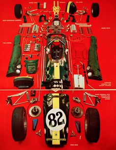 Lotus 38 exploded view