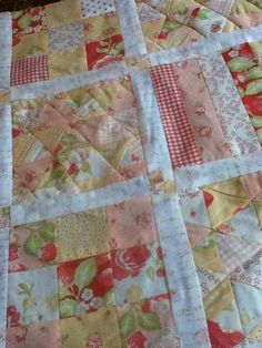 Strawberry Patch Quilt on @Craftsy on Pinterest