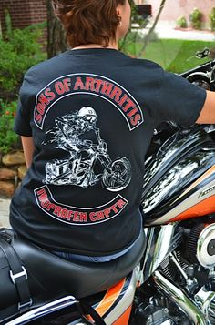 Women's cut shirts. Gotta have something for the biker chicks.