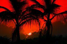 NEVIS FOUR SEASONS SUNSET IN PARADISE NEVIS PHOTOGRAPHER BILL DRAKE billdrakenewyork@aol.com. how incredible in #Nevis