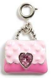 CharmIt Pink Purse Charm- $5.00
