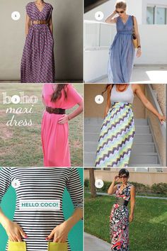 Slice of the Week :: DIY Maxi Dresses - Domestic Slice
