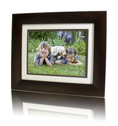 """HP 8-inch Digital Picture Frame by HP. $39.99. From the Manufacturer                 Great for the living room, office or den, the HP 8"""" Digital Photo Frame allows you to enjoy your favorite photos on a single stylish, easy-to-use frame. Featuring an all wood frame, the HP 8"""" Digital Photo Frame fits any home décor and makes it easier than ever to keep your memories close at hand.   Display high quality pictures on the 800 x 600 resolution LCD screen  Enjoy Great Pic..."""