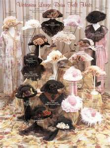 Old victorian hats