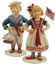 Mary Engelbreit Sailor Boy and Girl