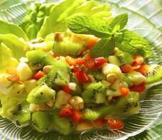 Banana Kiwi Salad (5 Points+ Per Serving)
