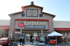 Earth Fare, the healthy supermarket, located at 2425 Apalachee Parkway in Tallahassee, Florida.