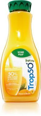 Orange Juice Packaging Slim Down