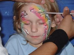 Face paint from entrada para flickr