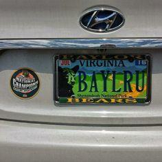 """Look what I found in Alexandria, Virginia!"" #Baylor #SicEm (via dabernathy89 on Twitter) #BaylorEverywhere"