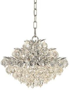Vienna Full Spectrum Chrome and Crystal Modern Chandelier