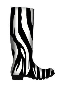 rainboot, anim print, rain boot, animal prints, zebra print