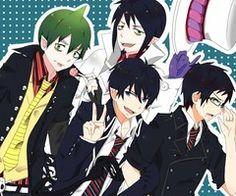 Amaimon, Mephisto, Rin & Yukio, Ao no Exorcist