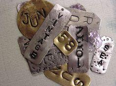 DIY: Stamped metals