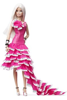 Pink In PANTONE® Barbie® Doll - Gold label