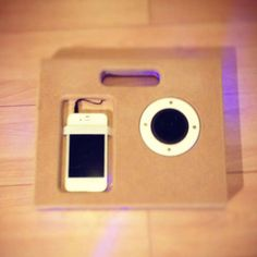 iPhone Boom Box created by a UO student