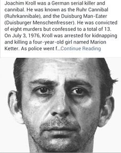 serial murderers   Killer   Serial killers
