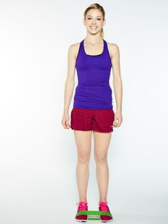 Try figure skater Gracie Gold's calf strengthener exercise. #olympics