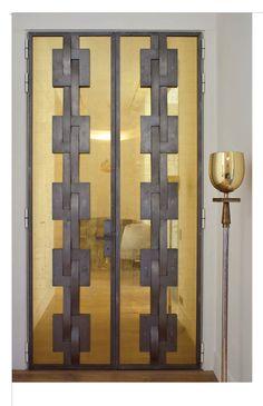 Glass & Iron Front Door (in Paris...)