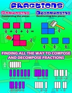 ... and Decomposing Fractions | Fractions and Decimals | Pinter