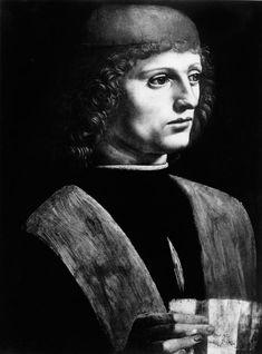 Leonardo da Vinci - Portrait of Ludovico Sforza (1452-1508) 'Il Moro'